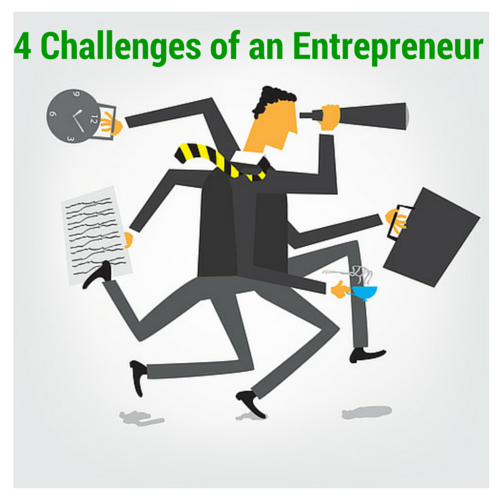4 Personal Challenges of an entrepreneur