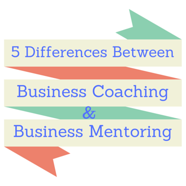 5 difference between business coaching and business mentoring