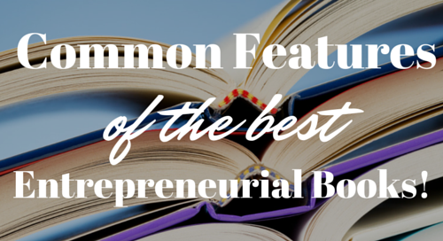 Common Features of the Best Entrepreneur books