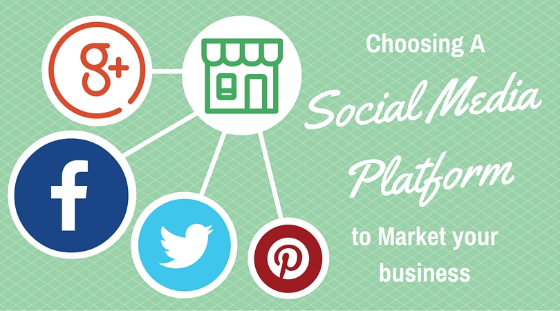 Choosing a social media marketing platform.