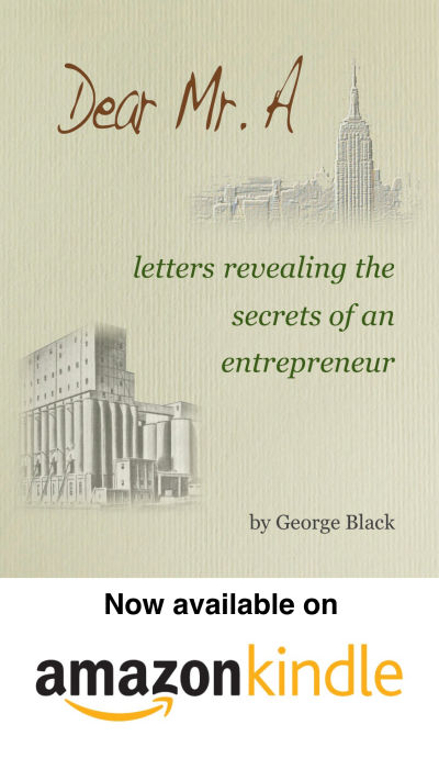 Secrets of a successful entrepreneur book- Dear Mr. A by George Black