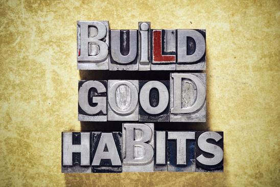 build good weekly habits like successful businessmen