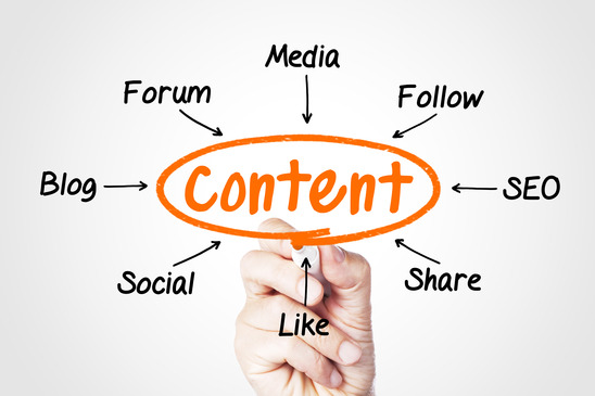 Content marketing tips and organic rankings and search engine results